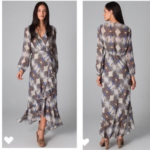 TWELFTH ST. by CYNTHIA VINCENT Cascade Maxi Dress